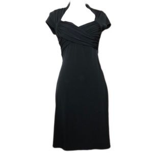 White House Black Market Midi Dress LBD